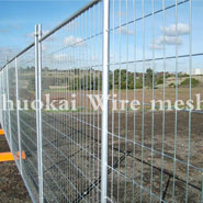 What are the differences between plastic mesh and PVC coated temporary fence?