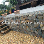What are the raw materials of gabion fence?