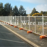 Hot dipped galvanized temporary fence product classification and main structural features