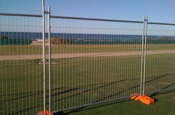 PVC coated temporary fence suppliers